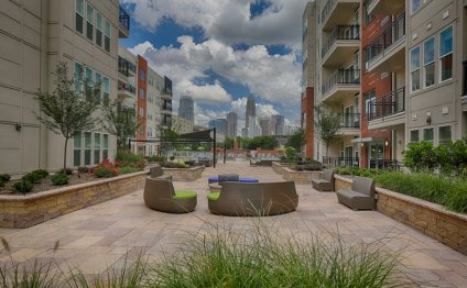 Apartments downtown Charlotte
